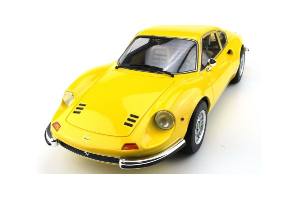 TOPMARQUES 1/12scale Dino 246 GT 1972 Yellow  [No.TOP12-02B]