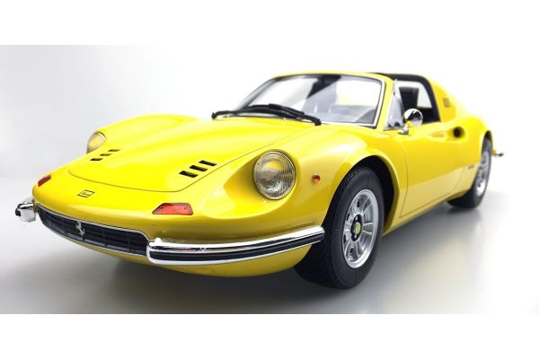 TOPMARQUES 1/12scale Dino 246 GTS 1972 (Yellow)  [No.TOP12-02D]