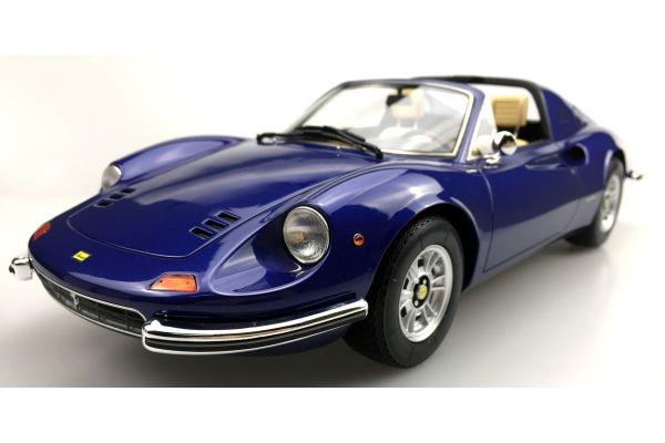 TOPMARQUES 1/12scale Dino 246 GTS 1972 (Blue)  [No.TOP12-02E]