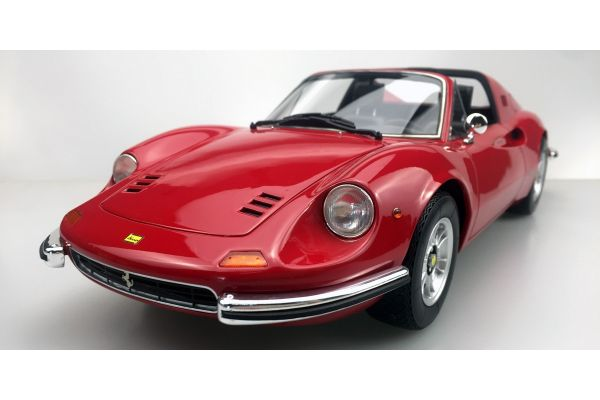 TOPMARQUES 1/12scale Dino 246 GTS 1972 (red)  [No.TOP12-02G]