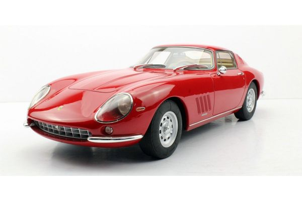 TOPMARQUES 1/12scale Ferrari 275 GTB/4 with Alloy wheels Red  [No.TOP12-04K]