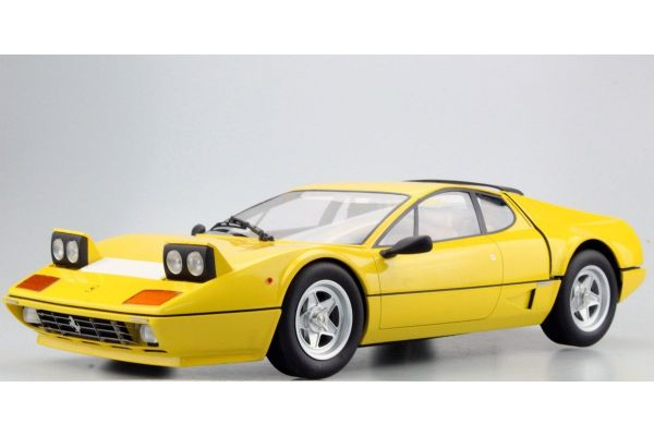 TOPMARQUES 1/12scale 512 BBi (Yellow)  [No.TOP12-09B]
