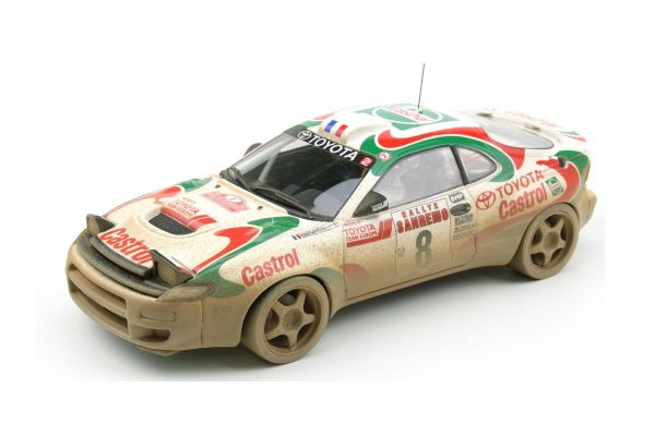 TOPMARQUES 1/18scale Toyota Celica GT-FOUR (ST 185) 1994 San Remo Winner Oriole # 8 (dirty paint)  [No.TOP034CD]