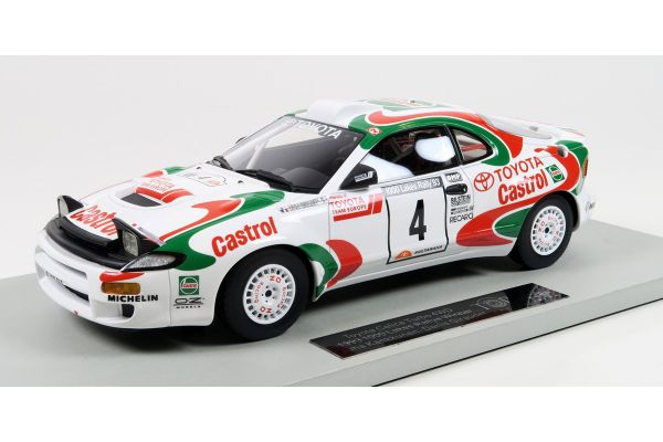 TOPMARQUES 1/18scale Toyota Celica GT-FOUR (ST185) 1993 1000 Lakes Rally Winner Kankkunen No.4  [No.TOP034D]