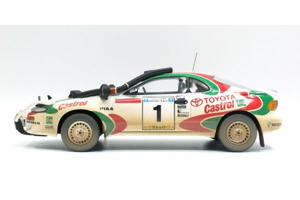 TOPMARQUES 1/18scale Toyota Celica GT-FOUR (ST185) Castrol 1993 No.1 Safari Rally Winner J. Kankkunen Weathering Paint  [No.TOP034HD]