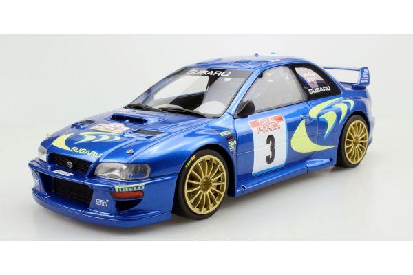 TOPMARQUES 1/18scale Subaru Impreza S4 No.3 Tool de Corse 1998 Winner C. McRae  [No.TOP040B]