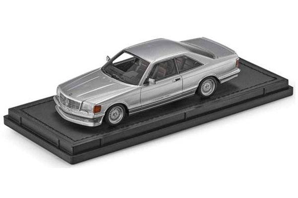 TOPMARQUES 1/43scale Mercedes 560 SEC Lorinser 1987 Silver  [No.TOP43008A]