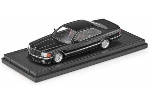 TOPMARQUES 1/43scale Mercedes 560 SEC Lorinser 1987 Black  [No.TOP43008B]
