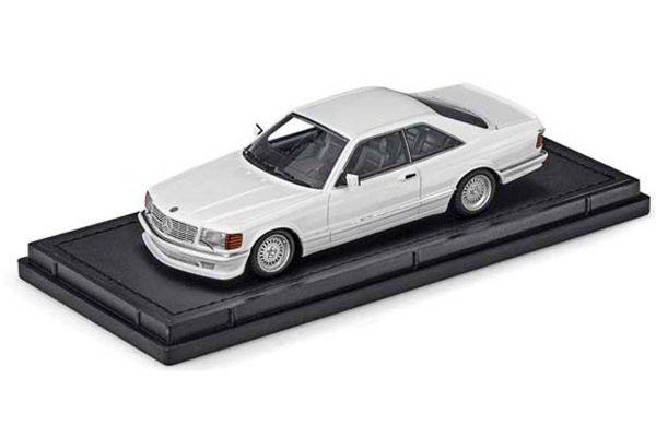 TOPMARQUES 1/43scale Mercedes 560 SEC Lorinser 1987 White  [No.TOP43008C]