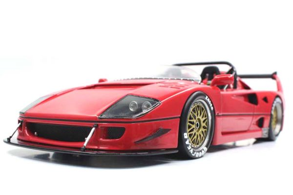 TOPMARQUES 1/43scale F40 LM Beurlys Barchetta Red  [No.TOP43010B]