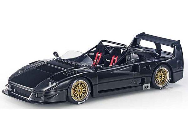 TOPMARQUES 1/43scale F40 LM Beurlys Barchetta Black  [No.TOP43010C]