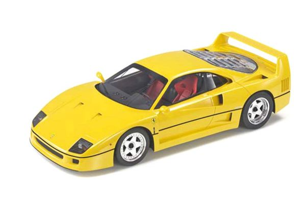 TOPMARQUES 1/43scale F40 Yellow  [No.TOP43011B]