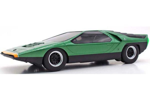 TOPMARQUES 1/43scale Alfa Romeo Carabo 1968 Green  [No.TOP43013A]