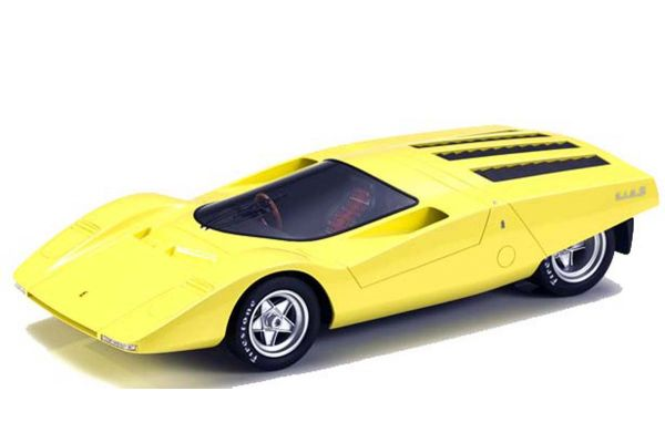 TOPMARQUES 1/43scale 512S Berlinetta Concept Yellow  [No.TOP43014A]