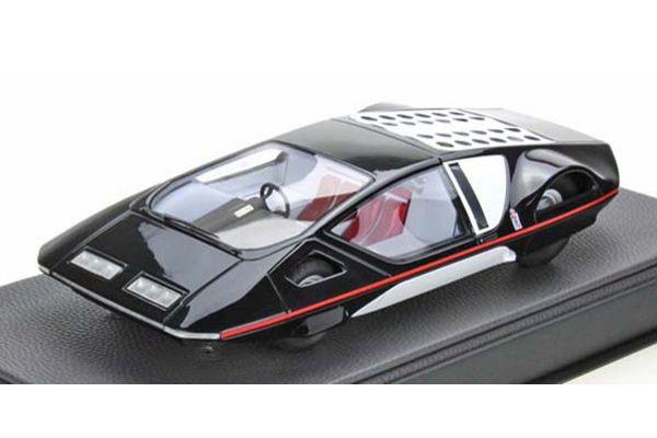 TOPMARQUES 1/43scale Pininfarina Modulo Black  [No.TOP43018B]