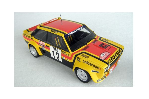 TOPMARQUES 1/18scale Fiat 131 No.12 1980 Rally Montecarlo No.12 Michele Mouton  [No.TOP043B]