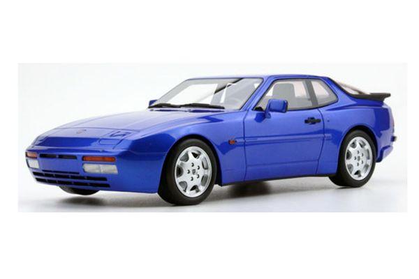 TOPMARQUES 1/18scale Porsche 944 turbo S (metallic blue)  [No.TOPLS023F]
