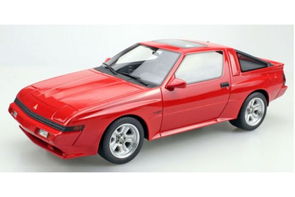 TOPMARQUES 1/18scale Mitsubishi Starion (Red)  [No.TOPLS033A]