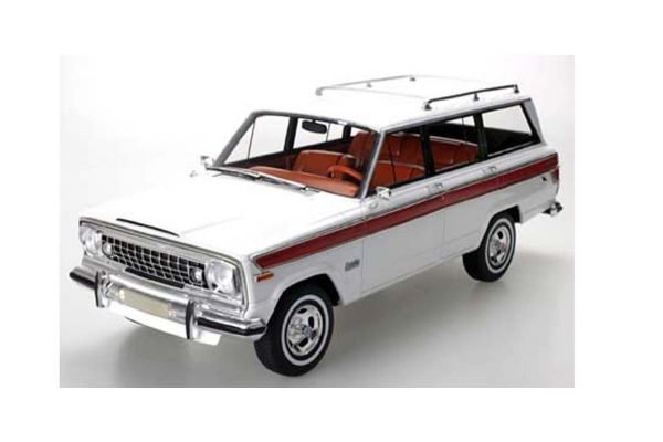 TOPMARQUES 1/18scale Jeep Grand Wagoneer White  [No.TOPLS037C]