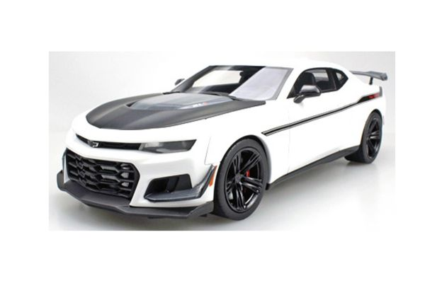 TOPMARQUES 1/18scale Camaro ZL1 1LE Hennessy Exorcist (White/Black)  [No.TOPLS039A]