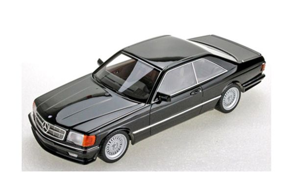 TOPMARQUES 1/18scale Mercedes 560 SEC Lorinser 1987 (Black)  [No.TOPLS047A]