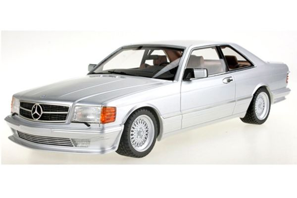 TOPMARQUES 1/18scale Mercedes 560 SEC Lorinser 1987 (Silver)  [No.TOPLS047C]