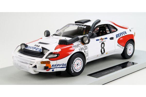 TOPMARQUES 1/18scale Toyota Celica GT-FOURST185 1992 No.8 Safari Rally winner Sainz  [No.TOP034F]