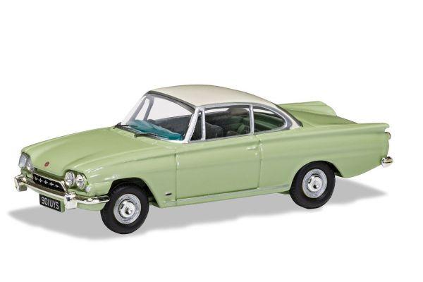 CORGI 1/43scale Ford Consal Capri 335 (109E) Lime Green & Armin White  [No.CGVA03407]