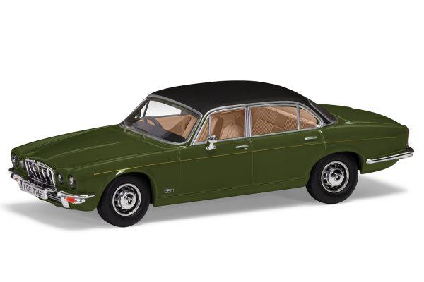CORGI 1/43scale Jaguar XJ12 Series 2 LWB (Juniper Green)  [No.CGVA13902]