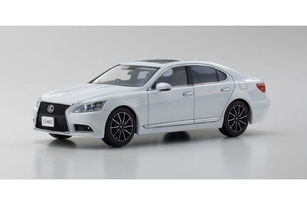 KYOSHO 1/43scale Lexus LS460 F SPORT White NOVA  [No.KS03659W]