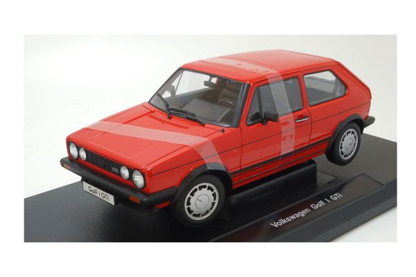 WELLY 1/18scale Volkswagen GOLF I GTI RED [No.WE18039R]