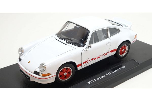 WELLY 1/18scale PORSCHE 911 CARRERA RS 1973 ホワイト [No.WE18044WR]
