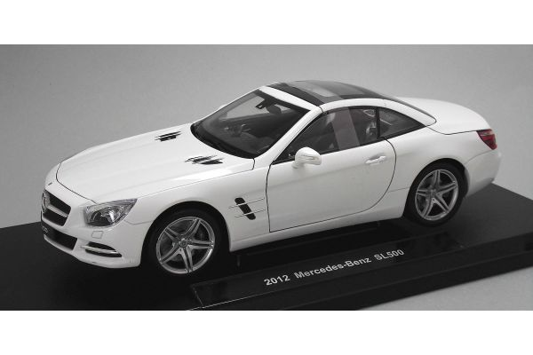 WELLY 1/18scale Mercedes-Benz SL500 hardtop White  [No.WE18046HW]