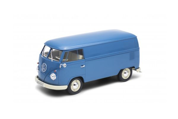 WELLY 1/18scale VW T1 bus 1963 (PANEL VAN) Blue [No.WE18053BL]