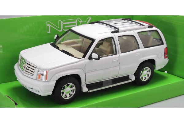 WELLY 1/24scale 2002 CADILLAC ESCALDE  White   [No.WE22412W]