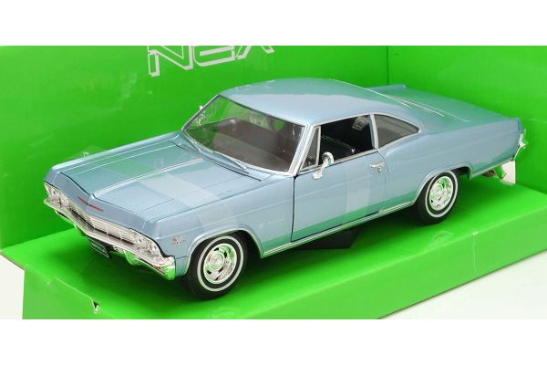 WELLY 1/24scale 1965 CHEVROLET IMPALA SS 396 Blue [No.WE22417IB]
