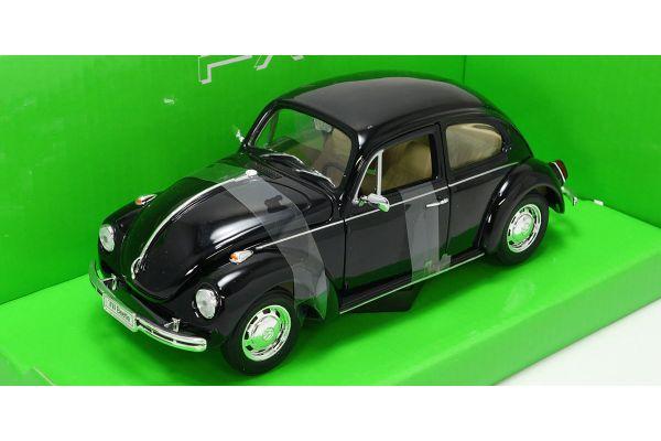 WELLY 1/24scale VW Beetle hardtop Black [No.WE22436BK]