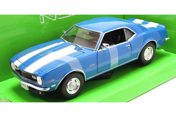 WELLY 1/24scale Chevrolet Camaro Z28 1968 Blue  [No.WE22448BL]