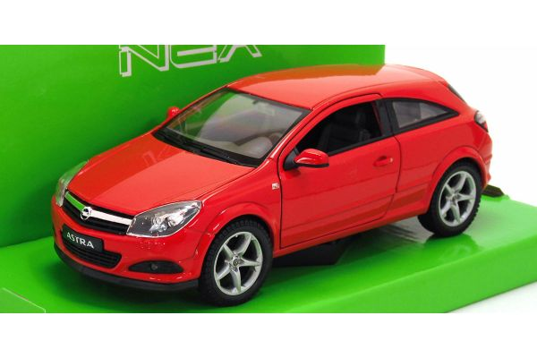 WELLY 1/24scale Opel Astra 2005 (Red)  [No.WE22469R]