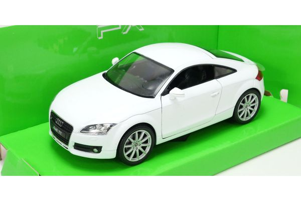 WELLY 1/24scale AUDI TT Coupe WHITE [No.WE22478W]