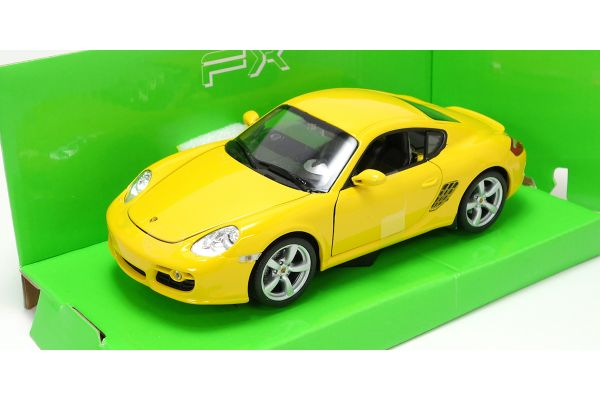 WELLY 1/24scale Porsche Cayman S Yellow [No.WE22488Y]