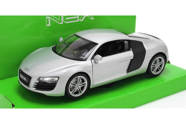 WELLY 1/24scale AUDI R8 SILVER [No.WE22493S]