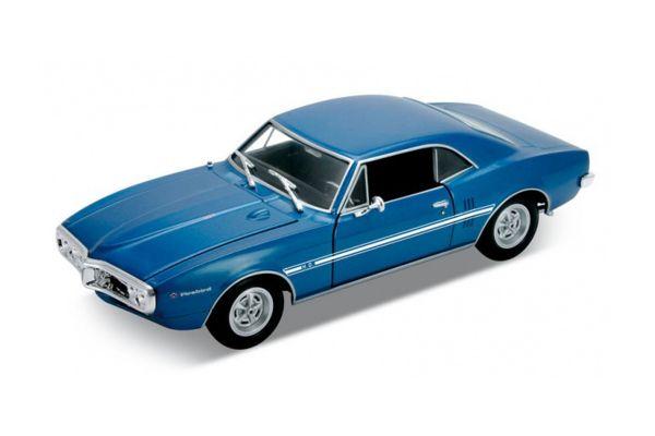 WELLY 1/24scale Pontiac Firebird 1967 Blue  [No.WE22502BL]
