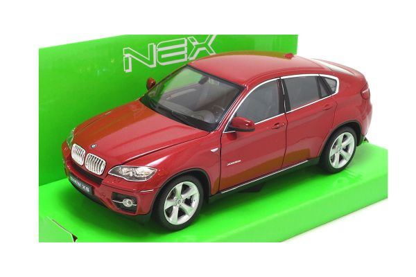WELLY 1/24scale BMW X6 RED [No.WE24004R]