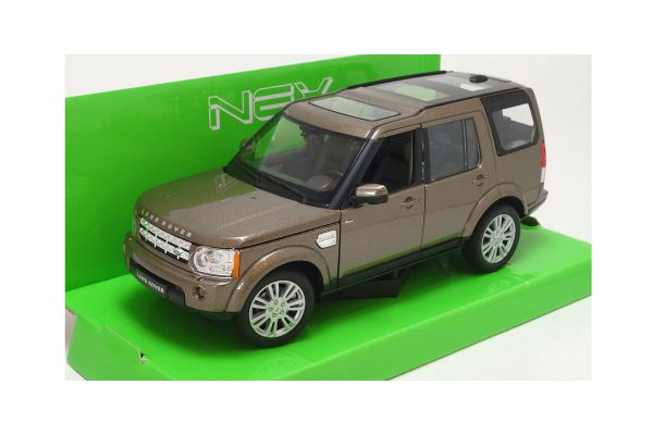 WELLY 1/24scale Land Rover Discovery Metallic Brown [No.WE24008MBR]