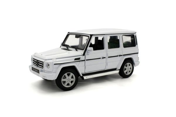 WELLY 1/24scale MERCECES-BENZ G-CLASS (White)  [No.WE24012W]