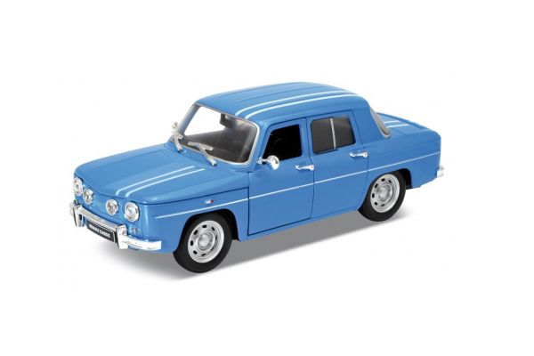WELLY 1/24scale Renault R8 Gordini BLUE [No.WE24015BL]
