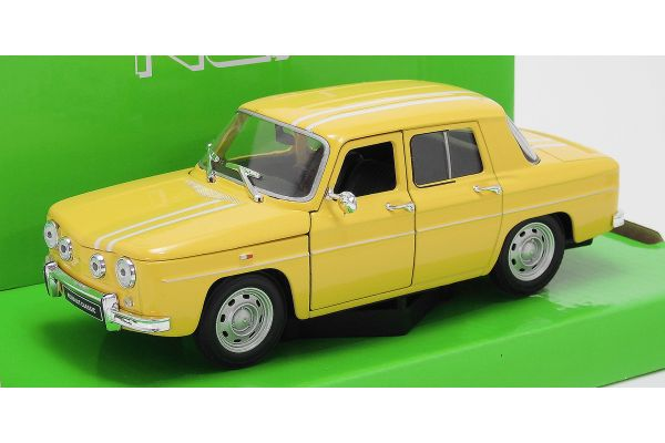 WELLY 1/24scale Renault R8 Gordini YELLOW [No.WE24015Y]
