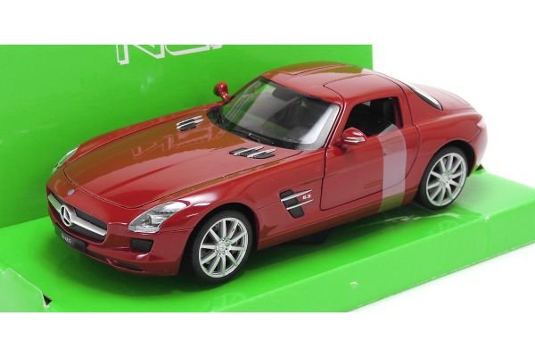 WELLY 1/24scale Mercedes-Benz SLS AMG RED [No.WE24025R]