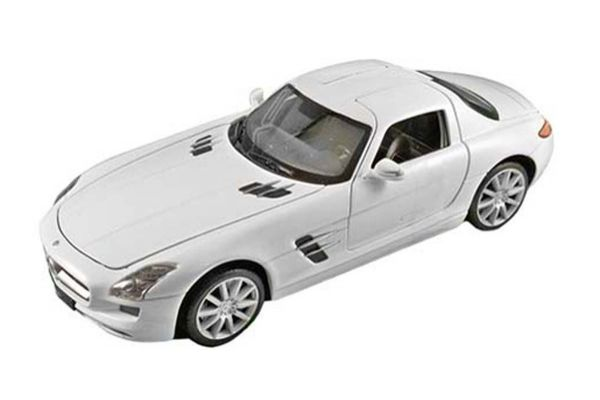 WELLY 1/24scale Mercedes Benz SLS AMG (white)  [No.WE24025W]